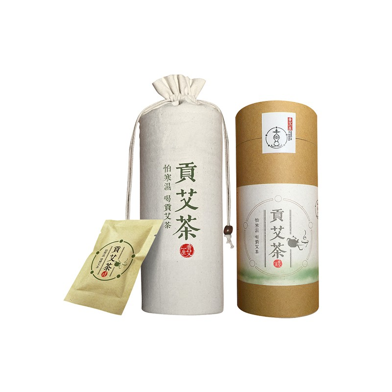 香艾一生贡艾茶(12袋/筒)